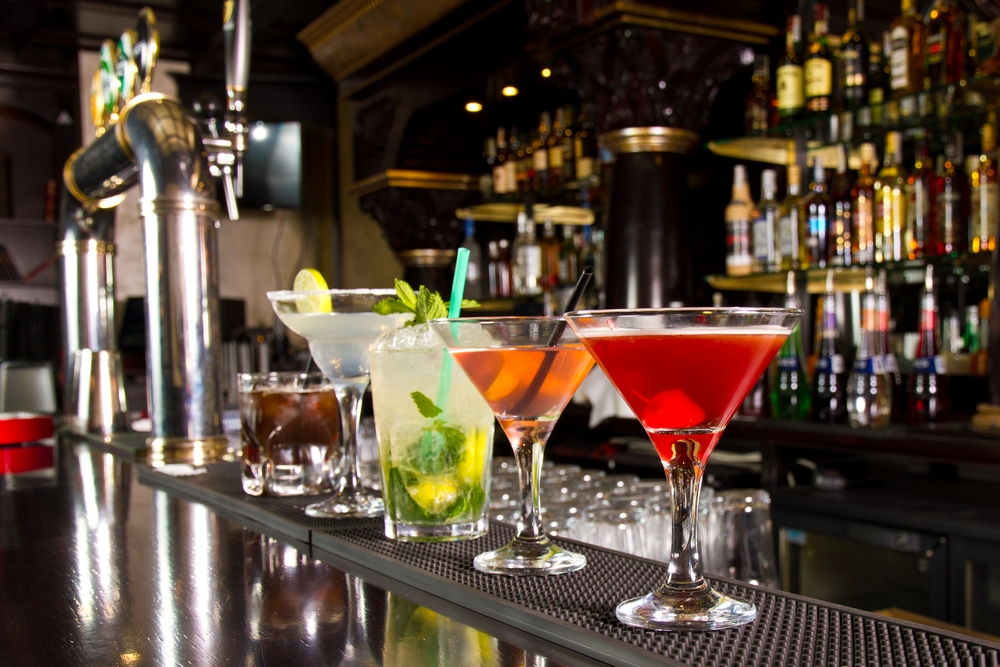 Cocktails are increasing in popularity.
