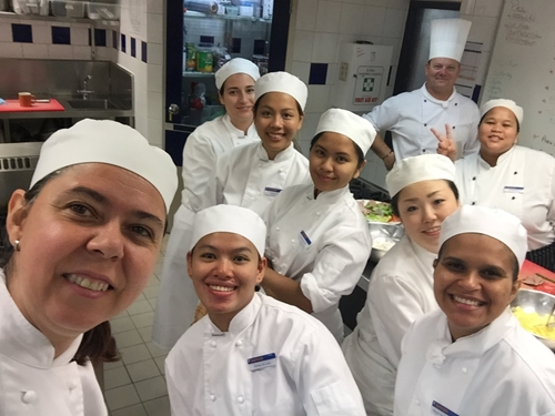 Becoming a top chef takes passion, skills and knowledge.