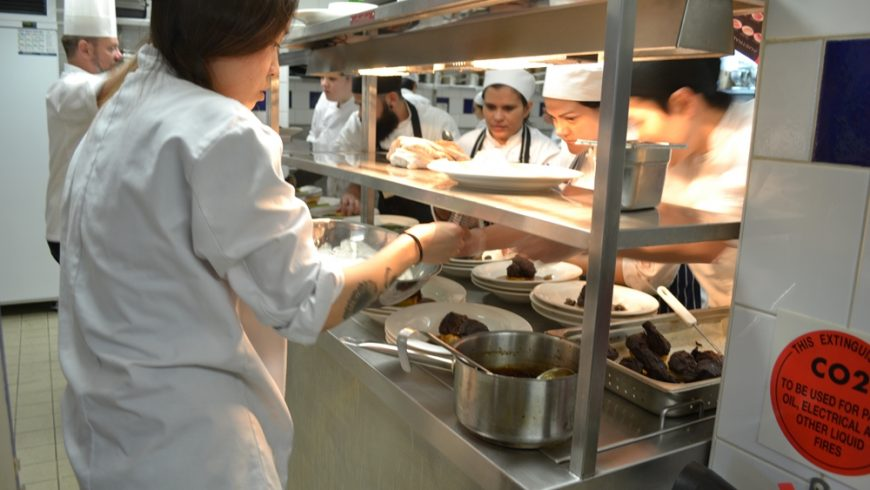 What's the career progression like in commercial cookery?