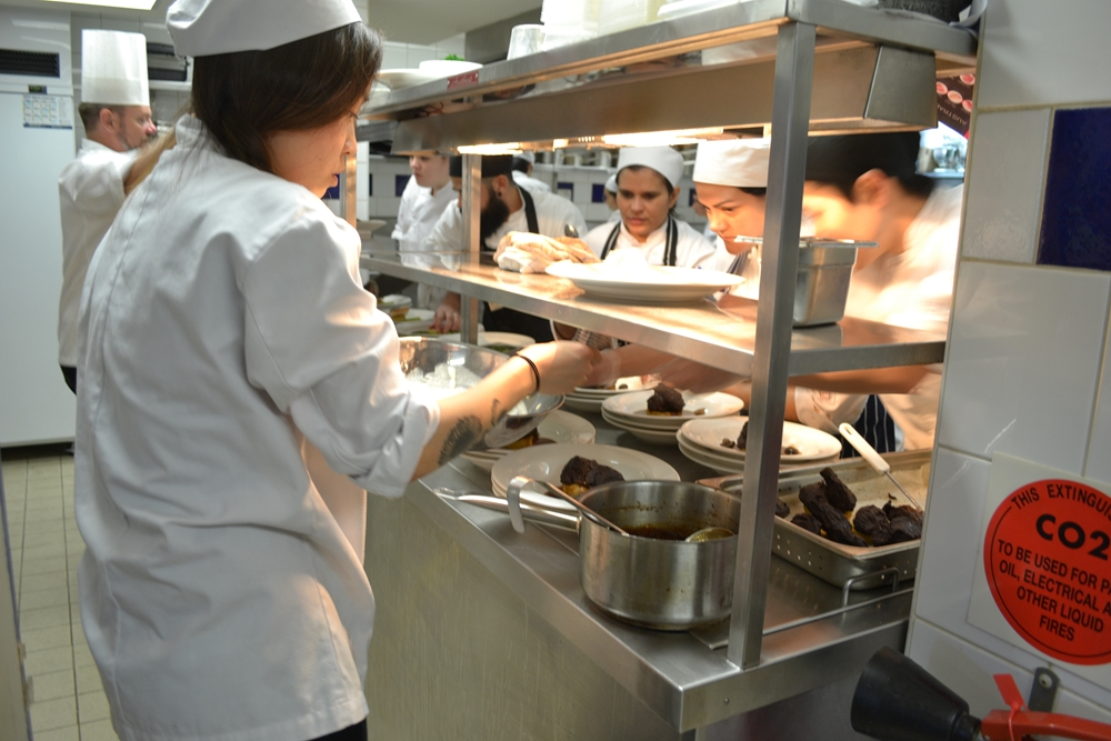 Working as a chef is extremely rewarding. How can you move up the ladder?